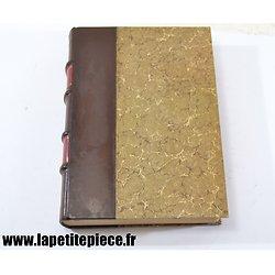 Livre - Ceux de 14, par Maurice Genevoix. Edition 1950 reliure cuir.