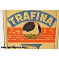 Plaque publicitaire TRAFINA 1947. Aliments pour animaux