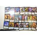 Lot de plus de 3kg cartes à jouer WOW World of Warcraft + héros (FR)