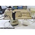 Commodore A500 - 1984 avec disquettes, sourie, joystick et alimentation.