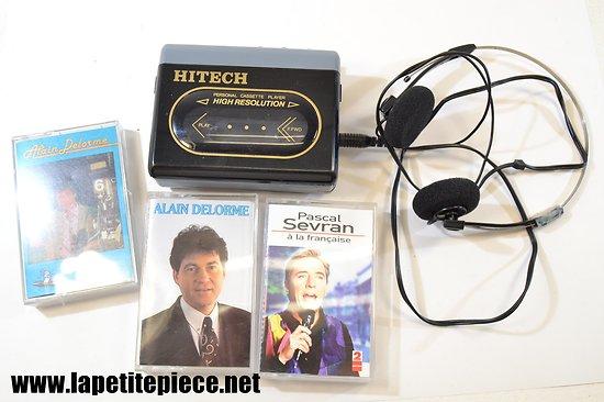 Lecteur cassettes / baladeur - Hitech personal cassette player