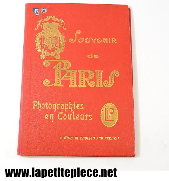 Souvenir de Paris, photographies en couleurs LIP 1929