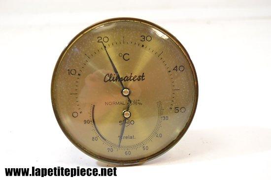 Baromètre Climatest Sundo. années 1950 - MADE IN GERMANY