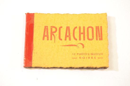 Arcachon - livret 12 photos-bijoux noires, Elcés