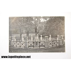Fontainebleau 1 - La Parc. La Fontaine de diane. Aqua-photo L.V.&Cie 1906