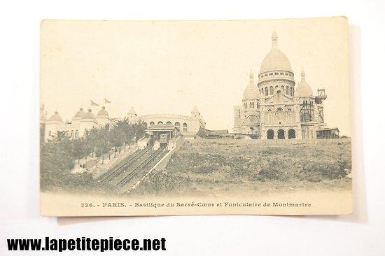 Paris - 326 - Basilique du Sacré-Coeur et Funiculaire de Montmartre