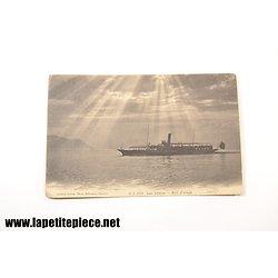 Lac Léman - soir d'orage J.J. 5922 Jullien Frères