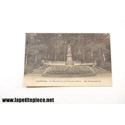 Luxembourg - Le monument de la Princesse Amélie - Das Amaliendenkmal 1909