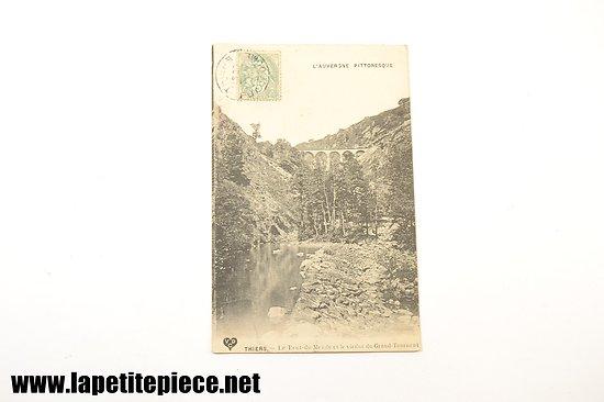 Thiers - Le pont du Monde et le viaduc du Grand-Tournent / L'auvergne pittoresque 1906