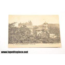 Chateau de Pierrefonds .49 - Vue du Parc. G. Duclos à Pierrefonds
