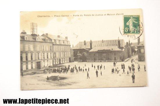 Charleville - Place Carnot - Porte du Palais de Justice et maison d'arrêt. E. Dupuis
