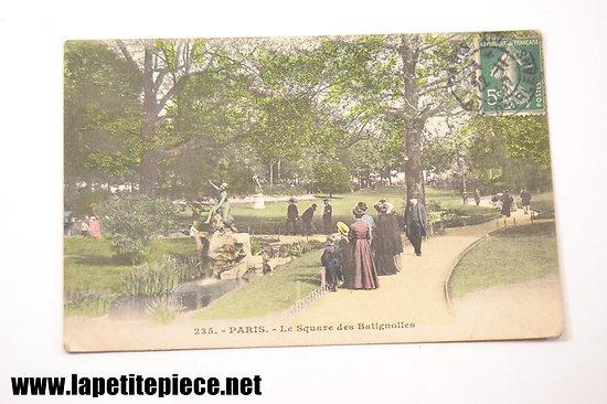 Paris .235 - Le square des Batignolles