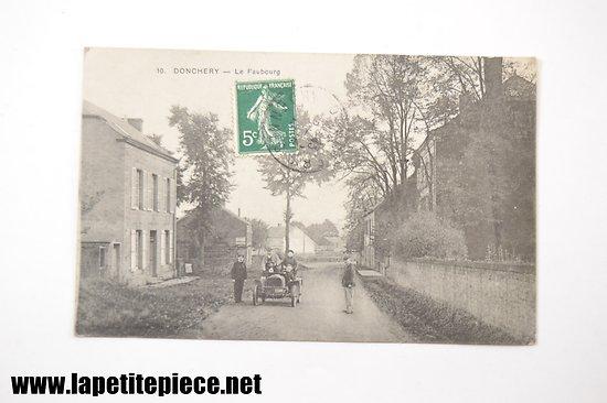 Donchery .10 - Le faubourg (1907-véhicule)