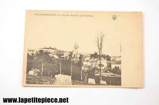 Villedommange et la Chapelle Saint-Lié (côté Sud-Est)