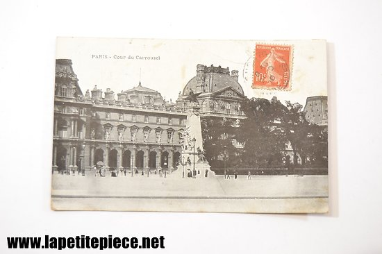 Paris - cour du carrousel (1910)