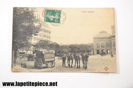 TOUT PARIS - Place du Trocadero, section des omnibus, relais des cheveaux. FLEURY