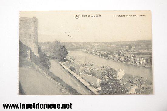 Namur Citadelle - Tour joyeuse et vue sur la Meuse (1910)