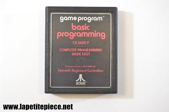 Atari Game Program: Basic programming CX-2620-P