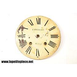 Cadran d'horloge G. Collignon à Stenay (Meuse)
