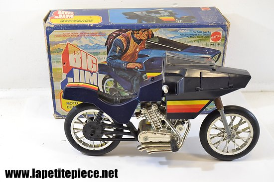 Big Jim - Moto commando. MATTEL 5141 de 1982