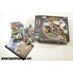 World of Warcraft Mega Blocks Set 91019 Gobelin + figurines et accesoires