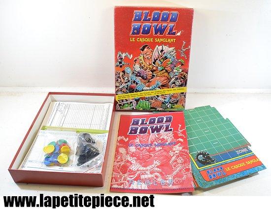 Plateau de jeu Blood Bowl - le casque Sanglant - Gamesworkshop 1986