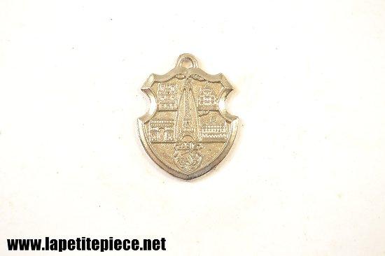 Porte-clé médaille PARIS France, Tour Eiffel