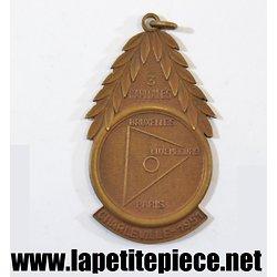Médaille commemorative Charleville 1951 3 capitales