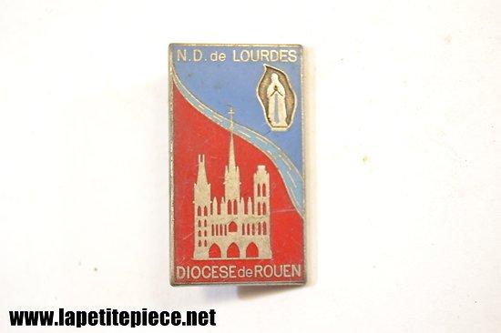 Insigne Notre Dame de Lourdes, Diocese de Rouen