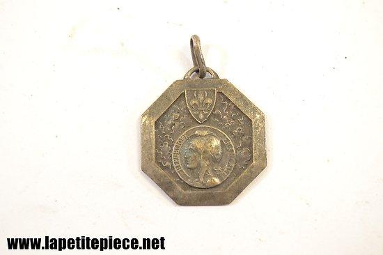 Médaille Ville de Lille, camps de vacance 1936