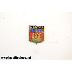 Blason émaillé Nantes 18mm x 23mm