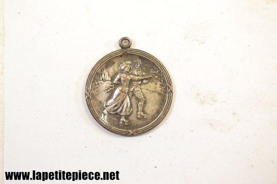 Médaille concours de danse ou souvenirs de bal musette