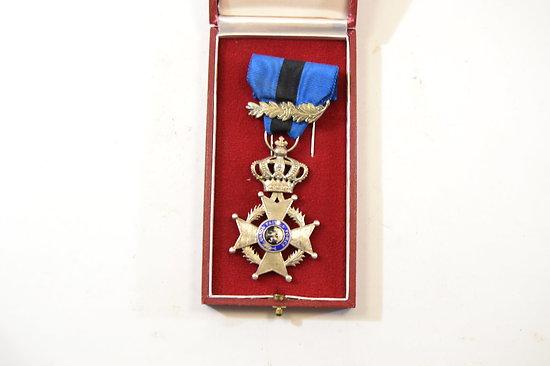 Croix de Chevalier de l'ordre de Léopold II - Belgique
