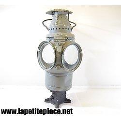 Lampe de chemins de fer américaine Adlake Squaretop switchlamp