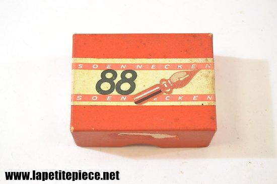 Boite de plumes 88 Soennecken 144p N°88EF