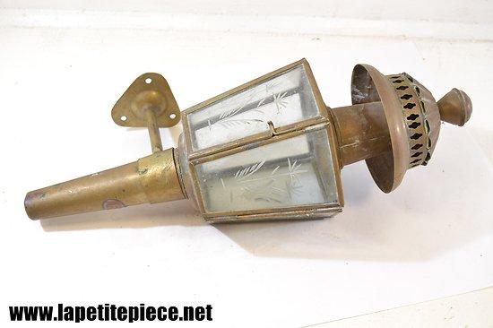 Lanterne applique / lampe de fiacre
