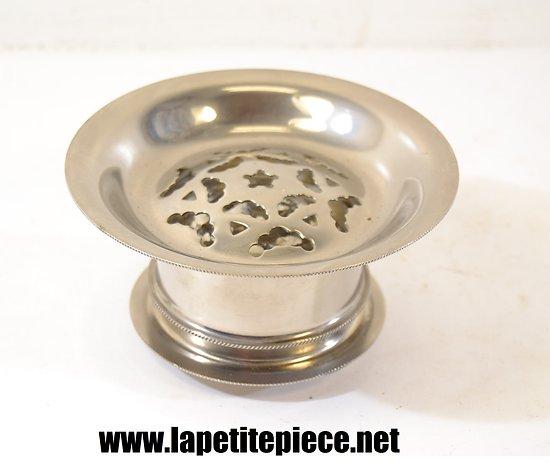 Beurrier / moule à beurre Italien, métal argenté