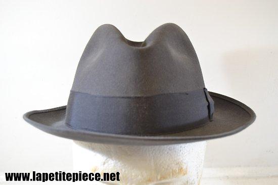 Chapeau taille 57 - Reymond Charleville (Ardennes) - Vrai cardou feutre