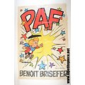 Poster Benoit Brisefer - Peyo et Walthéry Spirou 1970