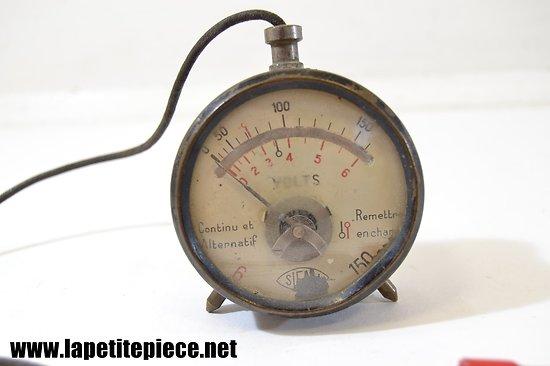 Voltmètre testeur de batterie, années 1950