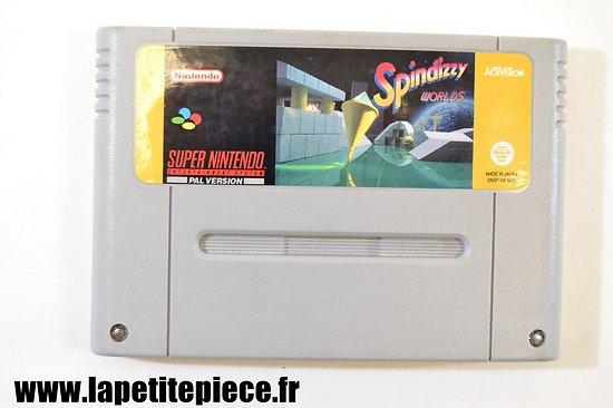 Jeu Super Nintendo Spindizzy Wolrds