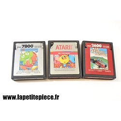 Lot 3 jeux ATARI Tower Toppler, Ms. Pac-Man et Sprintmaster