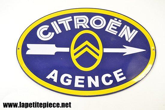 Plaque moderne décorative Citroën Agence