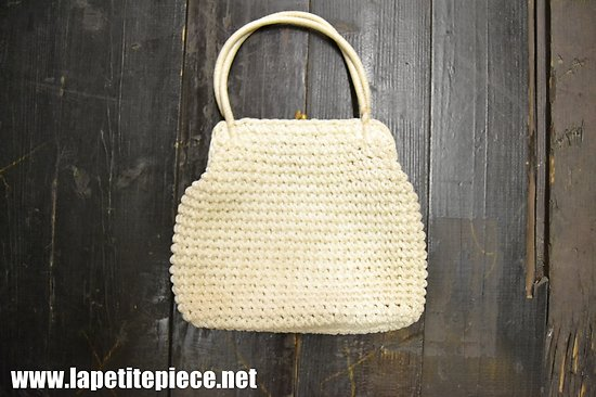 Sac à main vintage crochet MADE IN ITALY - années 1950 - 1960