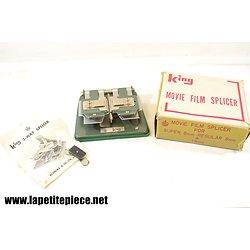 Appareil de réparation Super 8 / 8mm - Movie Film Splicer King Asanuma & Co Japan