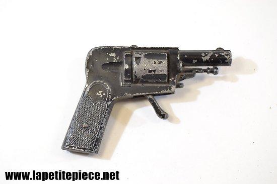 Pistolet en zamac, jouet années 1950 - 1960