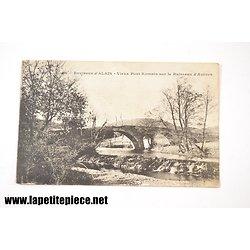 Alais - environs d'Alais, vieux pont romain sur le ruisseau d'Avènes