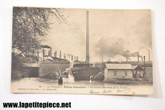 Le Creusot - Usines Schneider - déversoir des eaux de la forge, Ch. Marlet edit.
