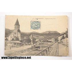 La Bourboule - l'Eglise et le Puy Gros