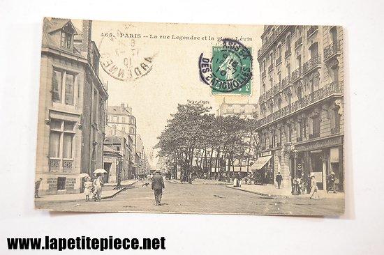 Paris - la rue Legendre et la place Lévis 465